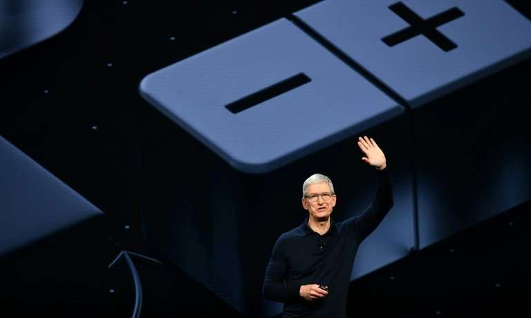Apple CEO Tim Cook speaks at Apple's Worldwide Developer Conference  (WWDC)