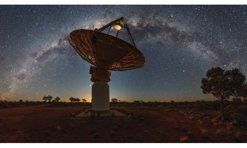 Astronomers witness slow death of nearby galaxy