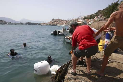 Cleaning the seabed: Divers halt the carnage of 'ghost' nets