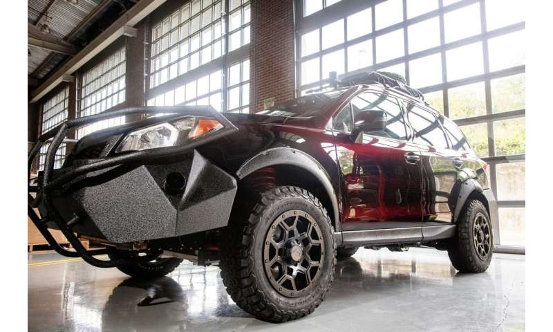 Driving autonomous cars off the beaten path