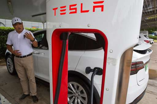Electric vehicles send real-time data to Chinese government