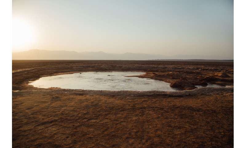 Extreme environment of Danakil Depression sheds light on Mars, Titan and nuclear waste