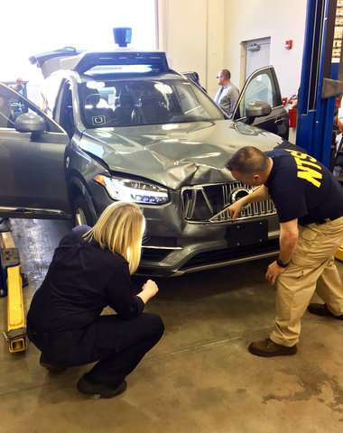 Feds: Uber self-driving SUV saw pedestrian, did not brake