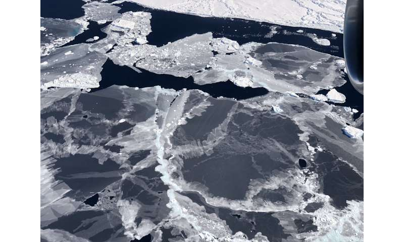 ICESat-2 reveals profile of ice sheets