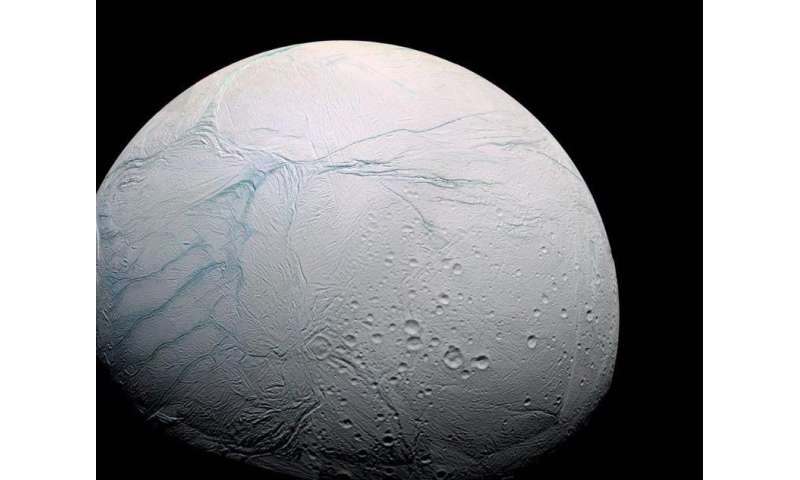 Ingredients for life on Saturn's moon may be 'tip of the iceberg'