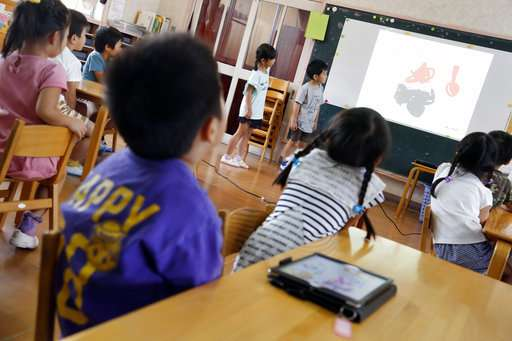 Japan preschools using tablets to prep tots for digital age