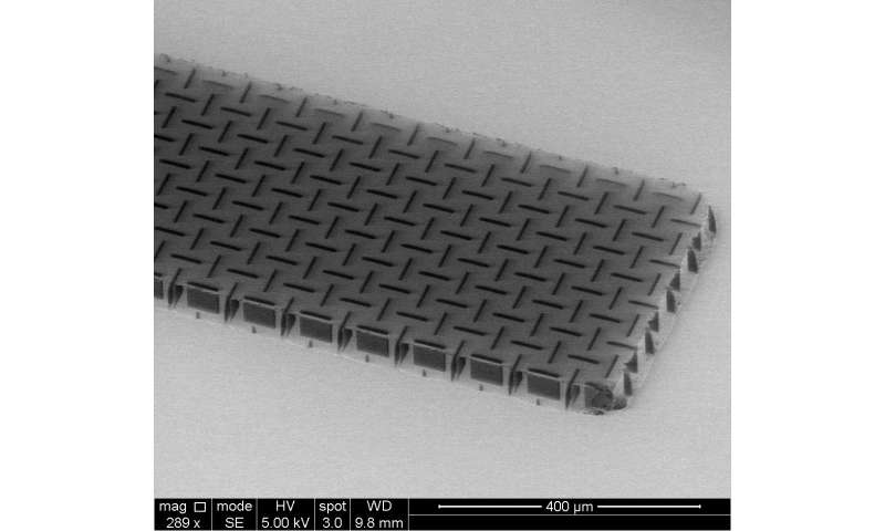 Penn engineers develop ultrathin, ultralight 'nanocardboard'
