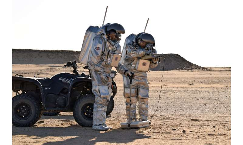 ScanMars demonstrates water detection device for astronauts on Mars