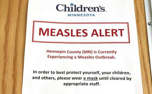Science Says: Why Europe still has so many measles outbreaks