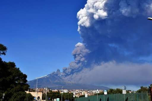 Sicilian airport reopens amid Mount Etna's latest eruption