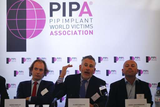 Top French court nixes ruling on faulty breast implants