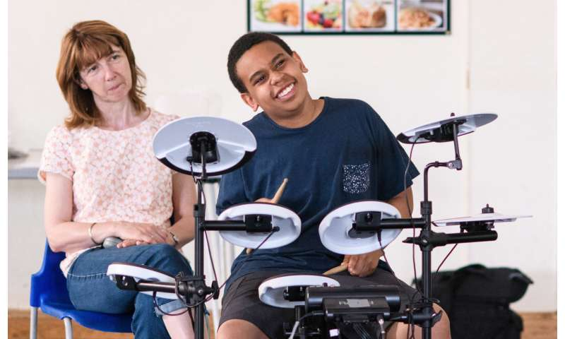 Scientists reveal drumming helps schoolchildren diagnosed with autism