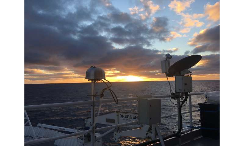 Researchers fly and sail to stormiest place on Earth to study cloud processes