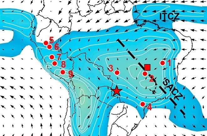 Research shows how the Little Ice Age affected South American climate