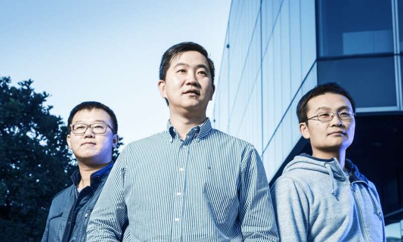 Scientists create atomic scale, 2-D electronic kagome lattice