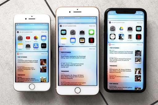 Apple offers a range of iPhones, from $450 to $1,100