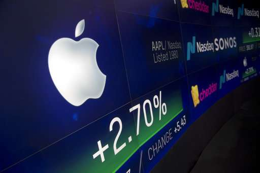Apple's stock sours, Microsoft's soars. Say what?!