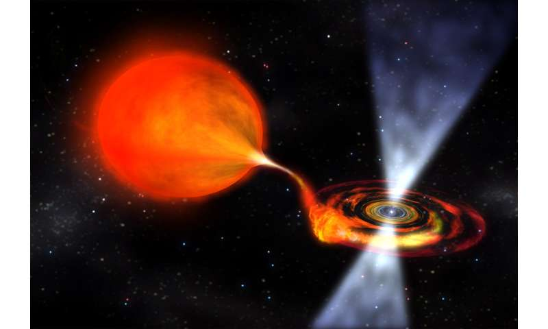Astronomers confirm extended atmosphere on accretion disk of X-ray binary