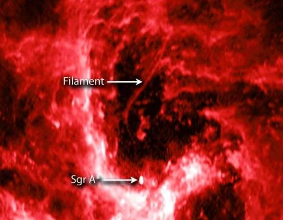 High-resolution image of the core of the Milky Way reveals surprisingly low star formation