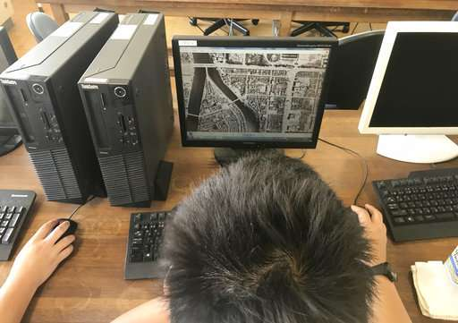 Japanese students use VR to recreate Hiroshima bombing