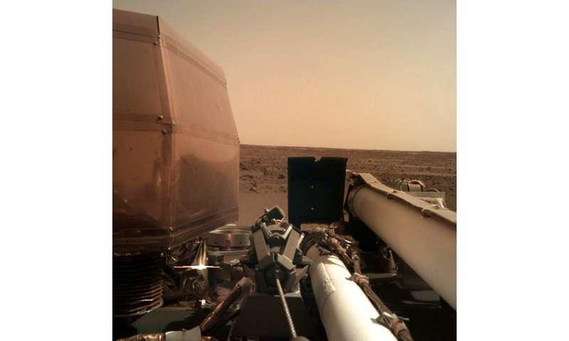 Mars touchdown: NASA spacecraft survives supersonic plunge