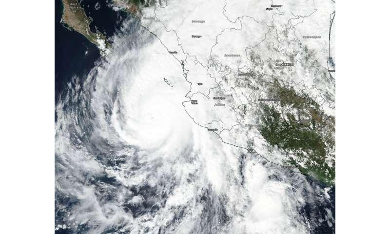 NASA eyes powerful Hurricane Willa affecting western Mexico