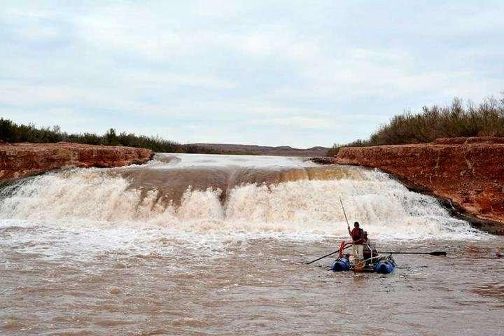 New research identifies abundant endangered fish below waterfall in San Juan River