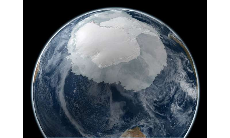 New satellite tech offers a more detailed map of moving Antarctic glaciers