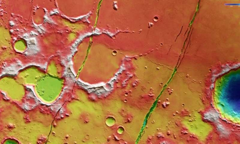 Recent tectonics on Mars