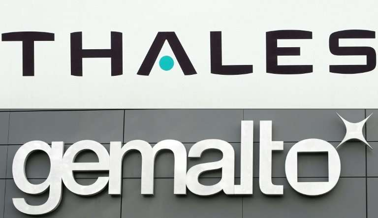 Image result for thales gemalto