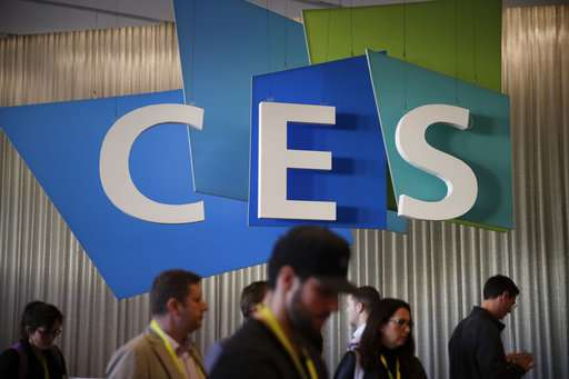 The Latest: Autos overshadow the small at CES tech show