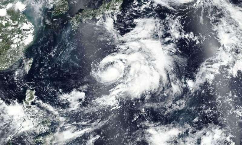 Tropical Storm Jongdari gearing up to become a Typhoon