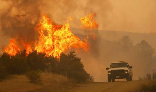 Twin California fires are second-largest in state history