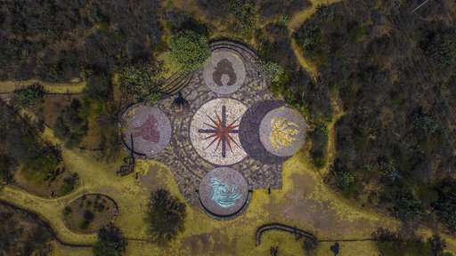 At botanical garden in Mexico, natural species blossom again
