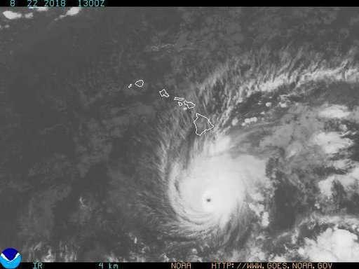 Big Island feels the effects of approaching hurricane