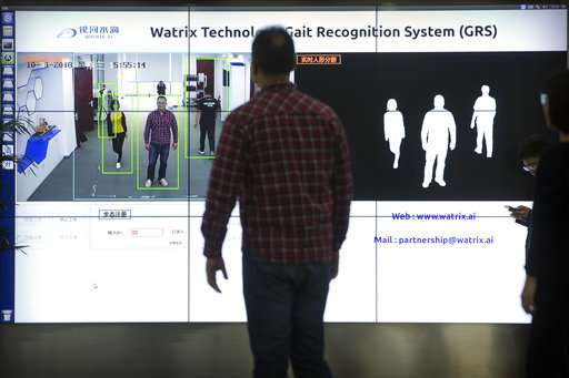 Chinese 'gait recognition' tech IDs people by how they walk