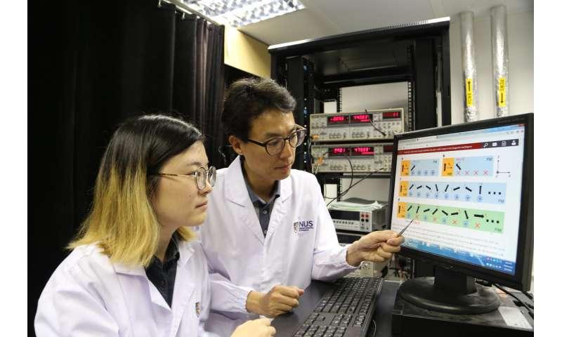 NUS engineers invent groundbreaking spin-based memory device