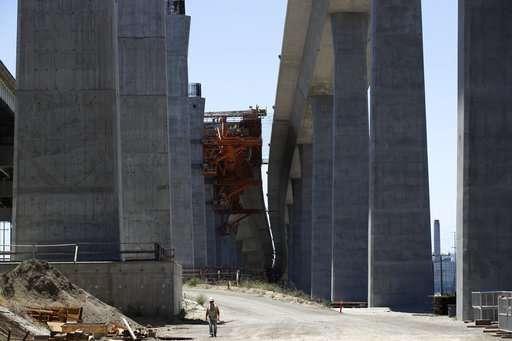 New California bridge gets sensors to gather earthquake data
