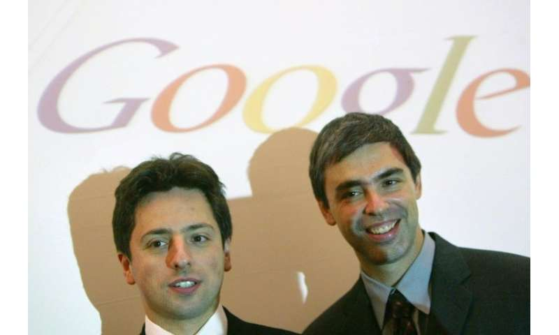 Silicon Valley legend has it Google founders Sergey Brin (L) and Larry Page offered to sell the company early on for a million d