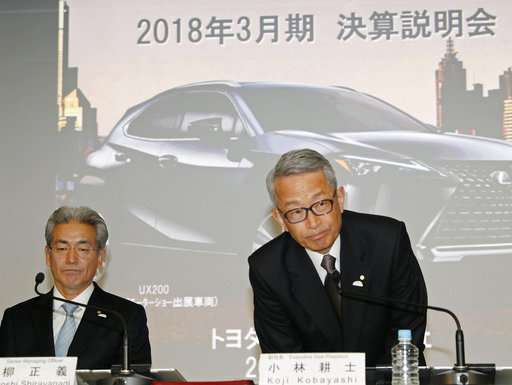 Toyota reports improved quarterly profit despite incentives
