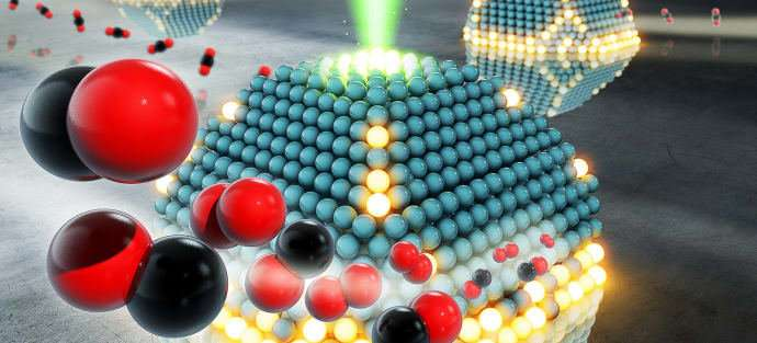 Understanding catalysts at the atomic level can provide a cleaner environmentBy studying materials down to the atomic level,