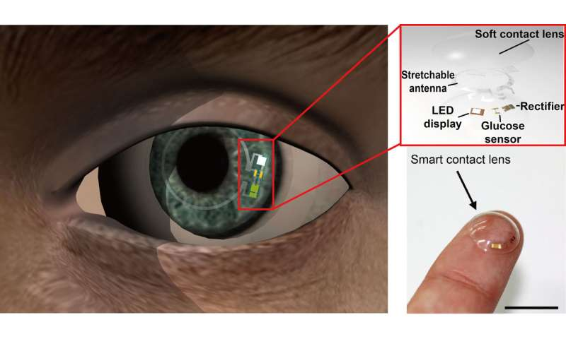 Graphene based glucose-monitoring contact lens comfortable enough to wear
