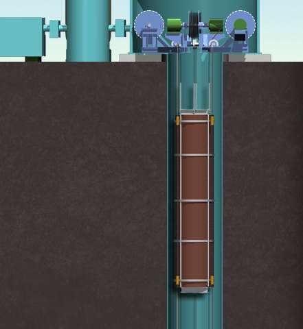 Transforming old mine shafts into future storage sites