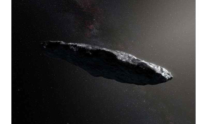 `Oumuamua had a violent past and has been tumbling around for billions of years