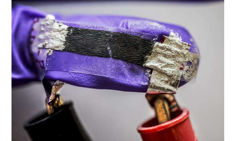 Tissue paper sensors show promise for health care, entertainment, robotics