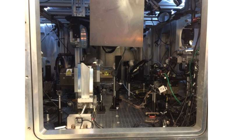 Experiments underway to turn light into matter