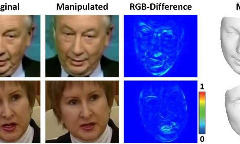 Researchers work on algorithm that reveals face swaps