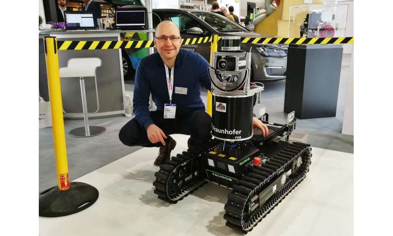 SmokeBot – a robot serving rescue units