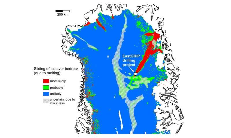 Polar ice may be softer than previously thought