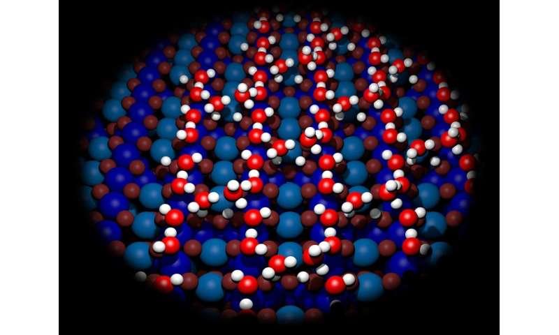 Building bridges with water molecules